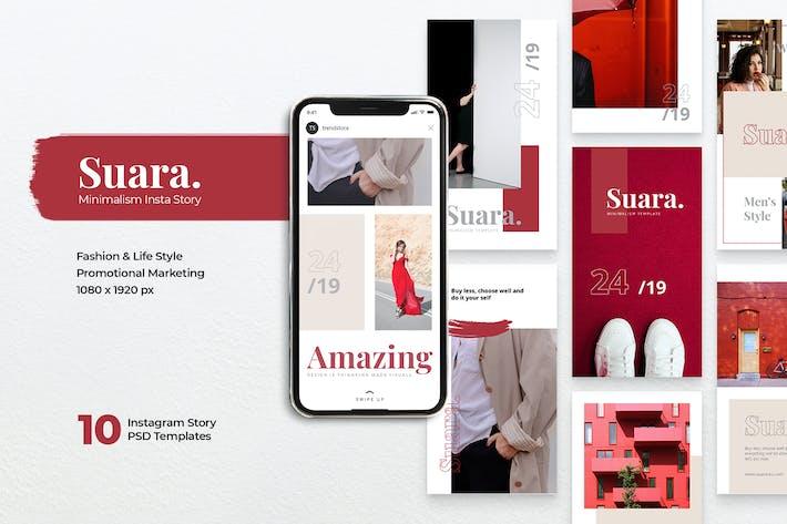 Thumbnail for SUARA Fashion Instagram Stories