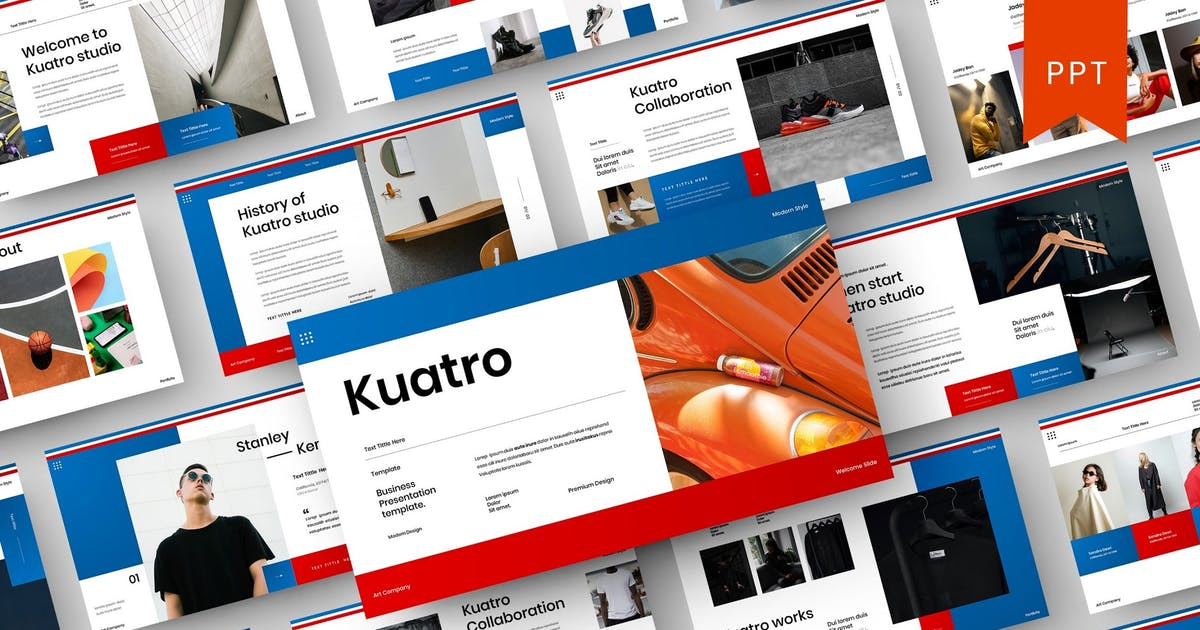 Download Kuatro – Business PowerPoint Template by DensCreativeStudio