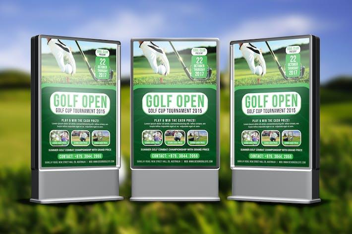 Thumbnail for Golf Tournament Poster