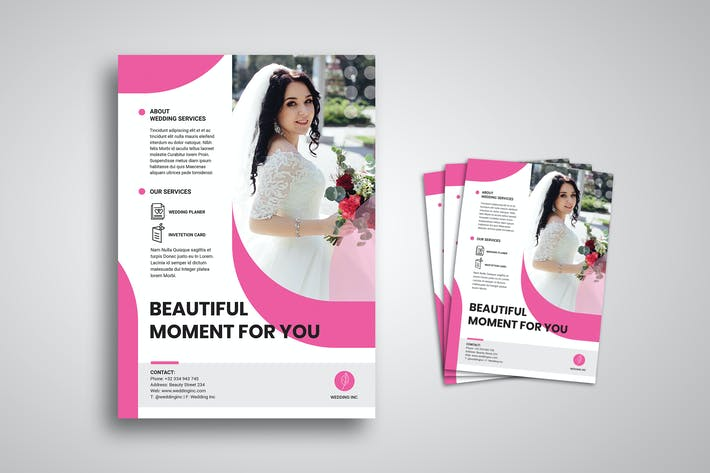 Thumbnail for Wedding Flyer Promo Template
