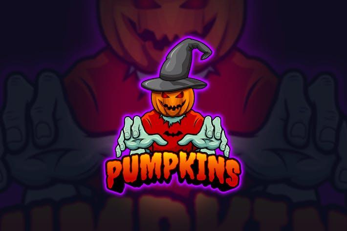 Thumbnail for Pumpkins - Mascot & Esport Logo