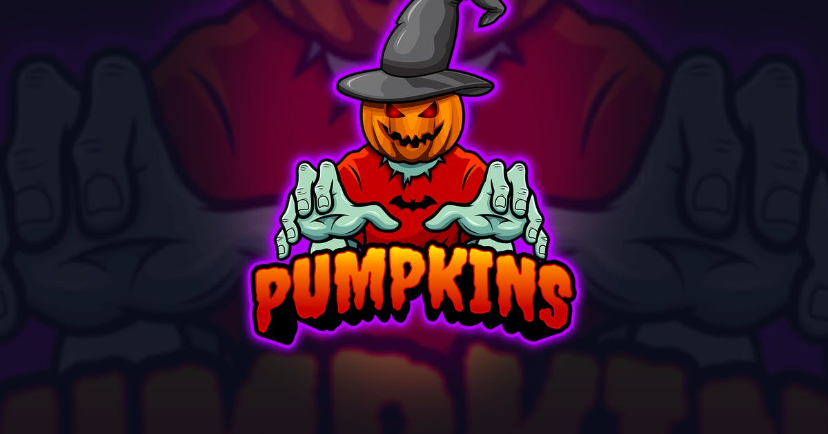 Download Pumpkins - Mascot & Esport Logo by aqrstudio