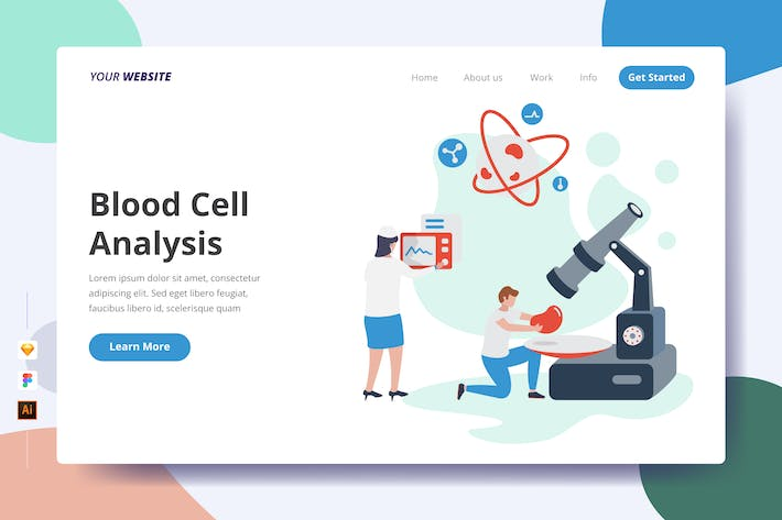 Thumbnail for Blood Cell Analysis - Landing Page