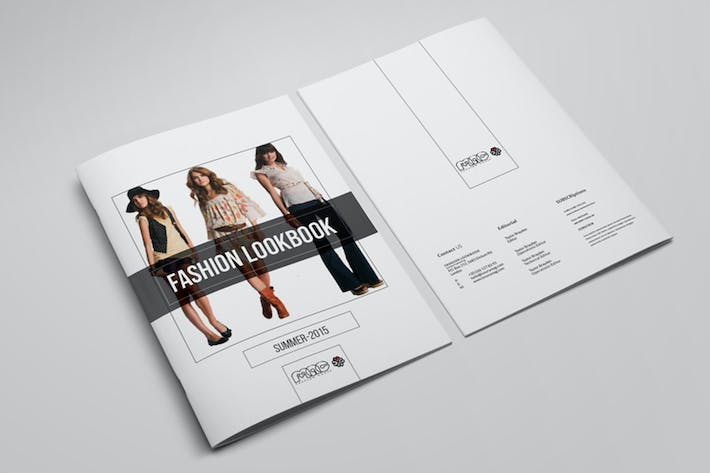 Thumbnail for Look-book Template