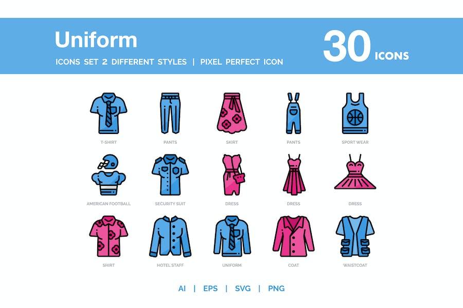 Uniform Icon Pack