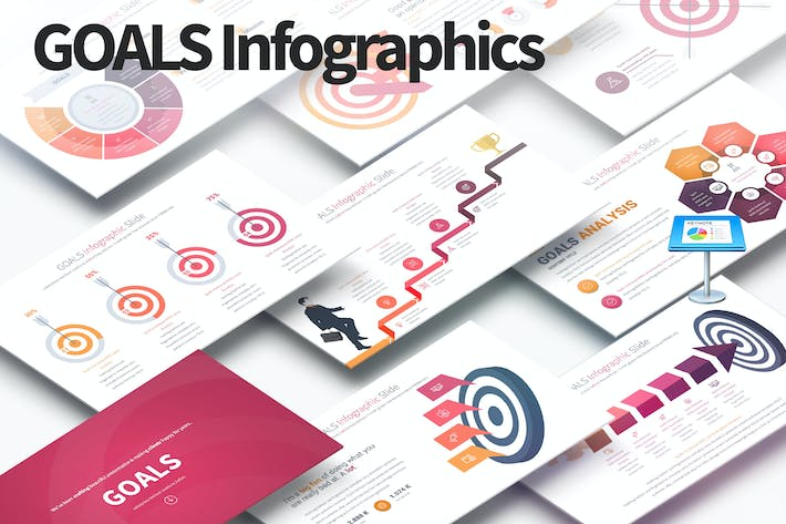 Thumbnail for GOALS - Keynote Infographics Slides