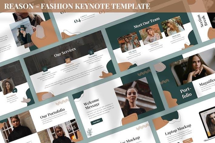 Reason - Fashion Keynote Template