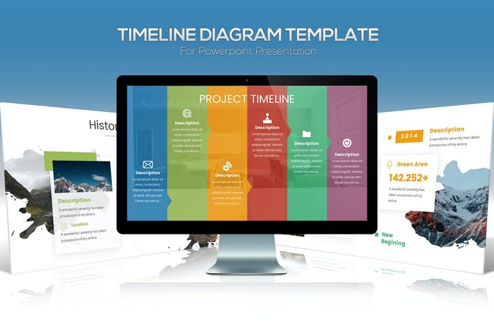 Thumbnail for Timeline Powerpoint Template