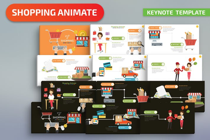 Thumbnail for Shopping Keynote Presentation