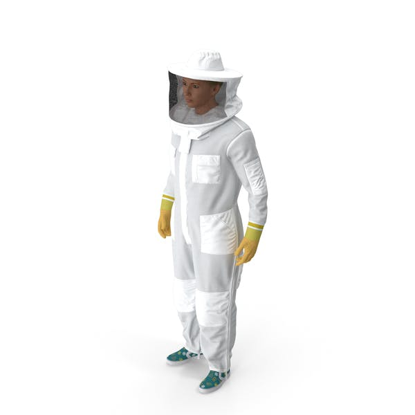 Female Professional Beekeeper