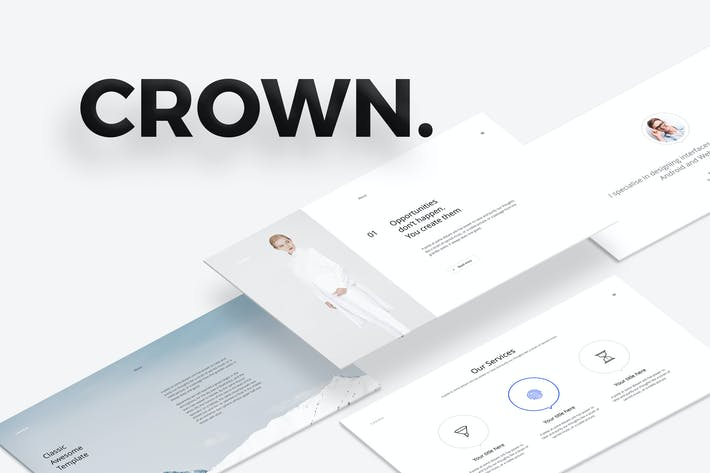 Thumbnail for CROWN Keynote Template