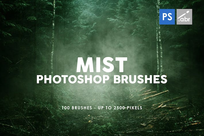 Thumbnail for 100 Mist Photoshop Stamp Brushes
