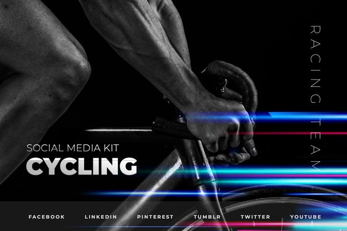 Thumbnail for Cycling and Triathlon – Social Media Kit