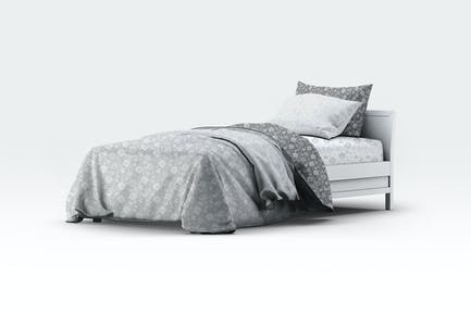 Single Bedding Mock-Up