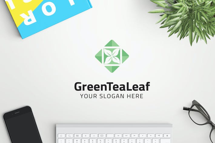 Thumbnail for GreenTeaLeaf professional logo