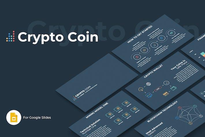 Crypto Coin Google Slides Template