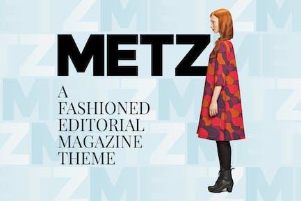 Metz - Editorial Magazine Blog Theme