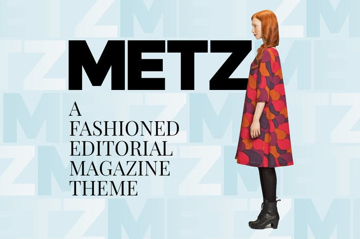 Thumbnail for Metz - Editorial Magazine Blog Theme