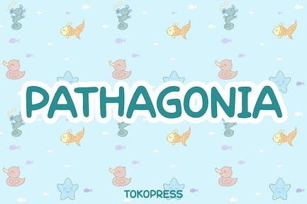 Pathagonia - Handwriting Kids font