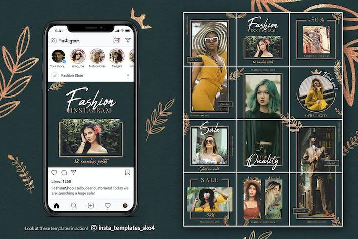 Thumbnail for Elegant Fashion – Instagram Puzzle