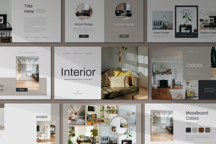 Thumbnail for Interior Powerpoint Template