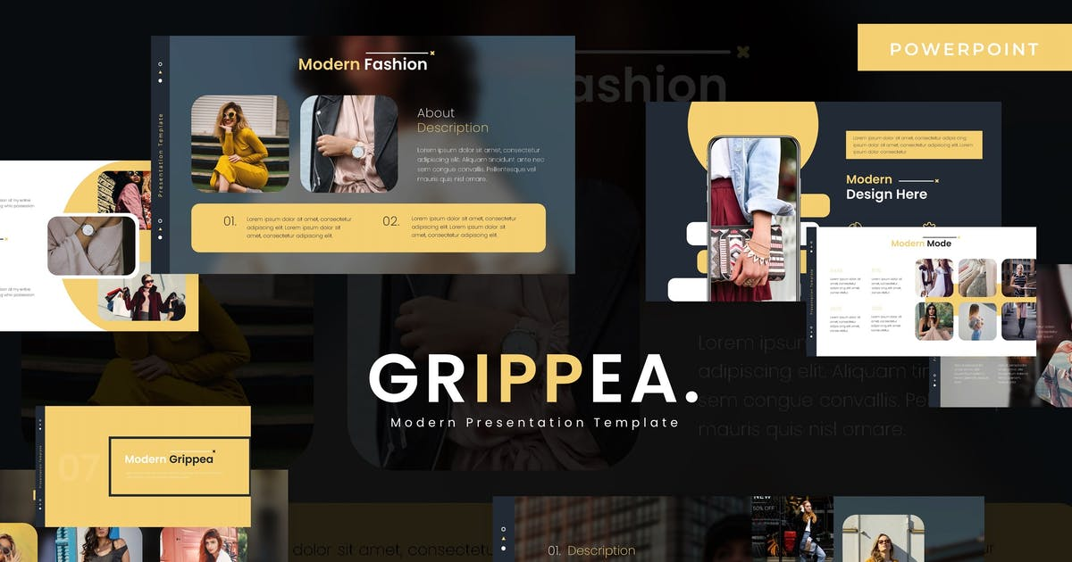Download Grippea - Powerpoint Template by vincentllora