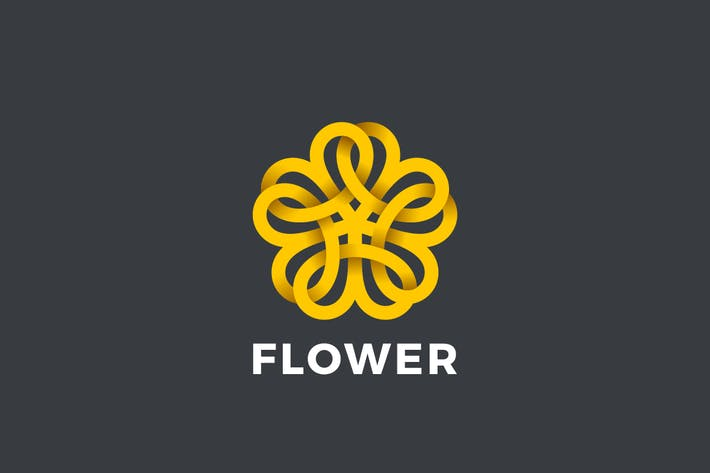Thumbnail for Logo Flower Star abstract Loop Infinity shape