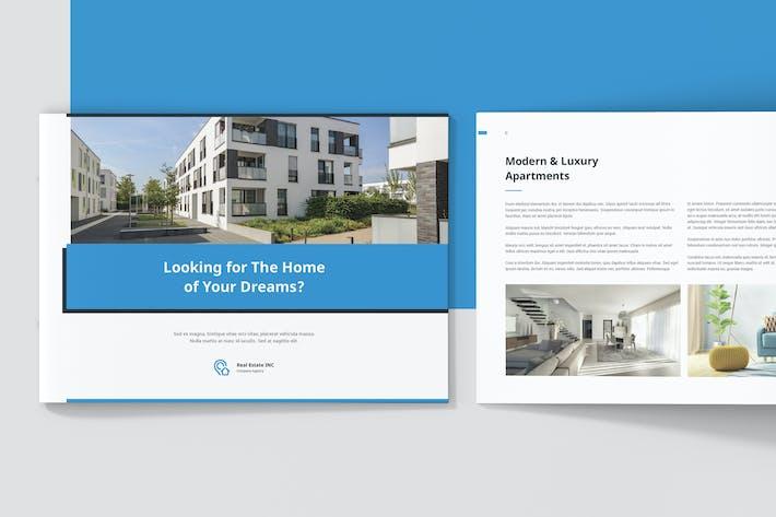 Thumbnail for Real Estate Brochure Landscape