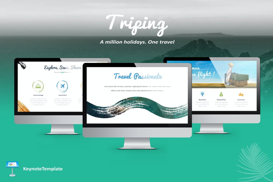 Triping - Travel Keynote Template