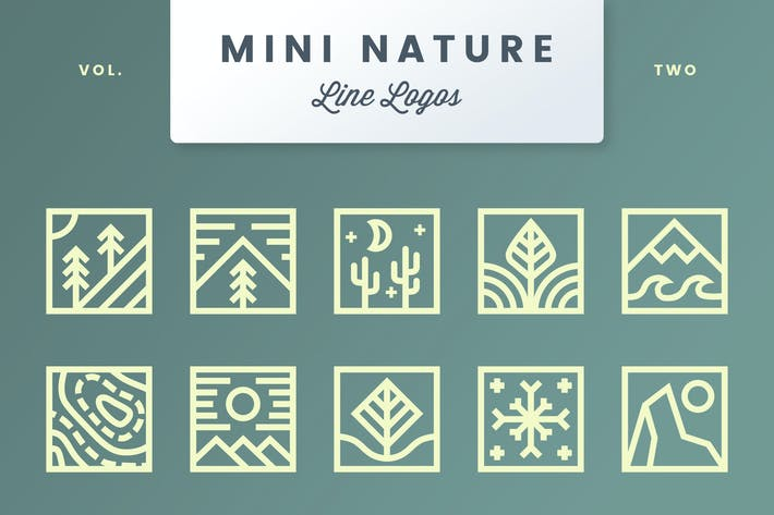 Thumbnail for Логотипы Mini Nature Line - Том 2