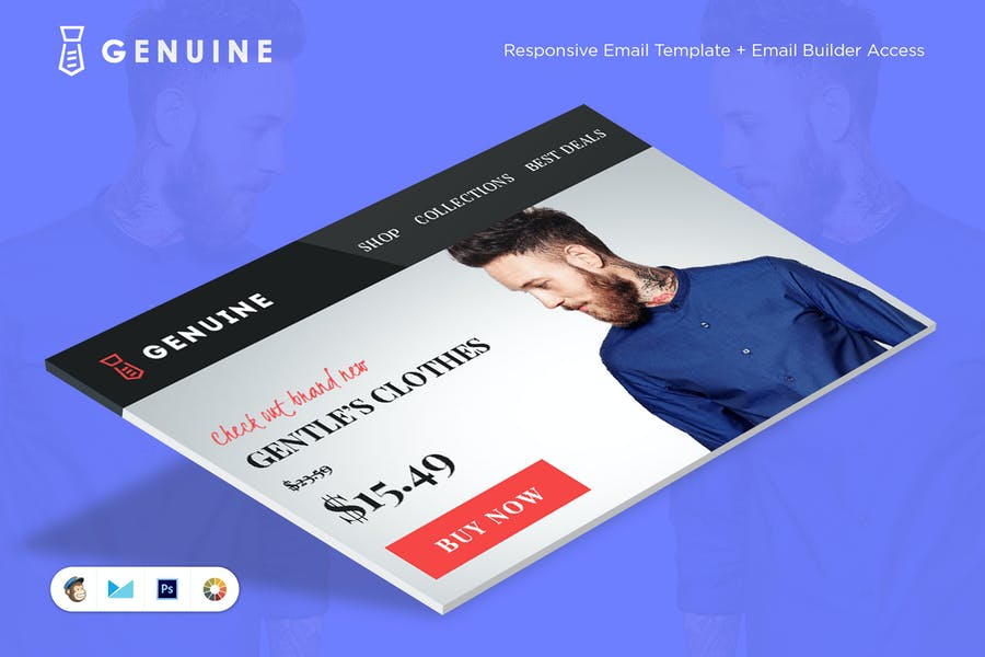 Genuine E-commerce E-Newsletter Template
