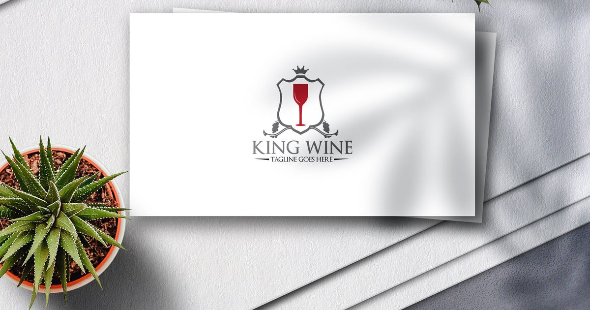 Download King Wine Logo by Voltury