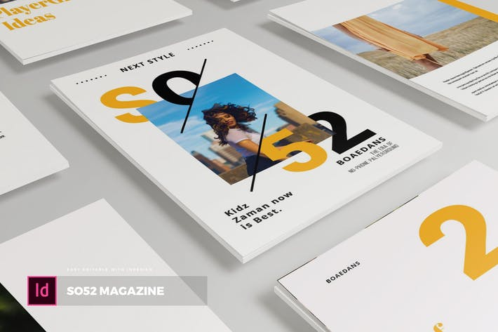 Thumbnail for SO52 | Magazine Template