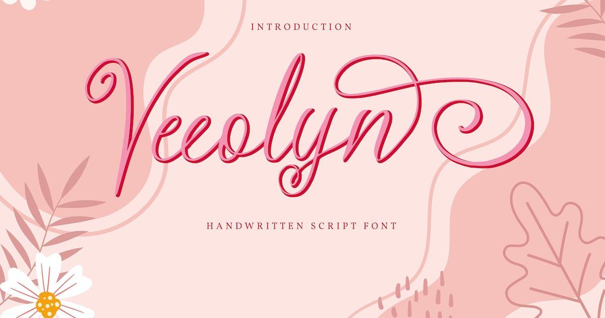 Download Veeolyn   Handwritten Script Font by Vunira