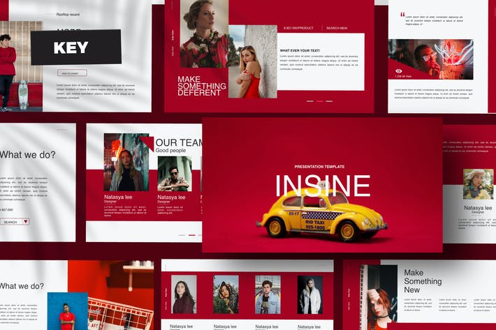 Thumbnail for Insine - Keynote Template