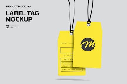 Label Tag - Mockup