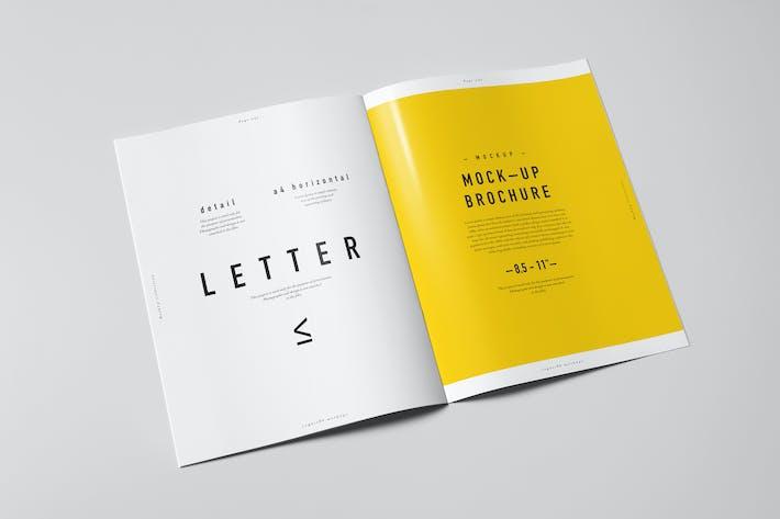 Thumbnail for US Letter Brochure Mock-up 2
