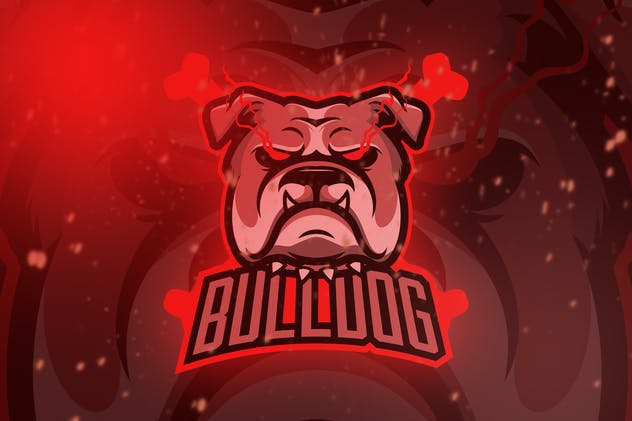 Bulldog Esport Logo Vol. 1