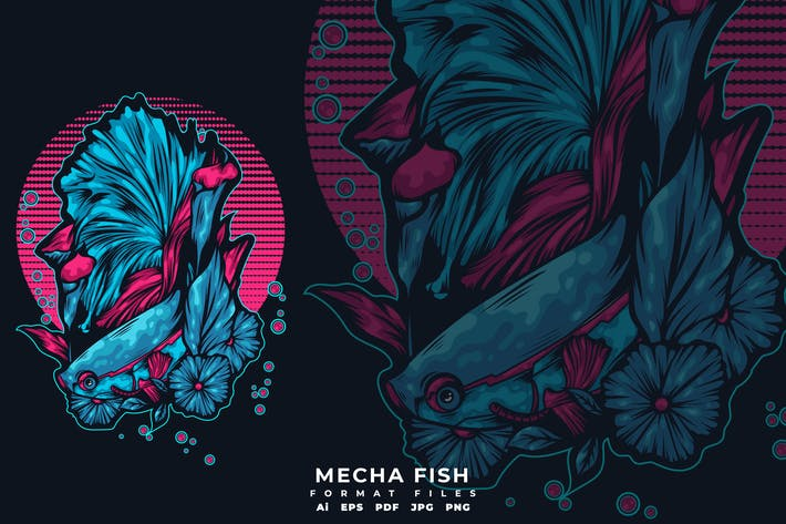 Cover Image For MECHA FISH