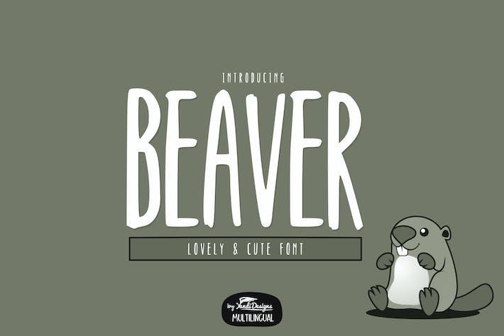 Thumbnail for Beaver Font