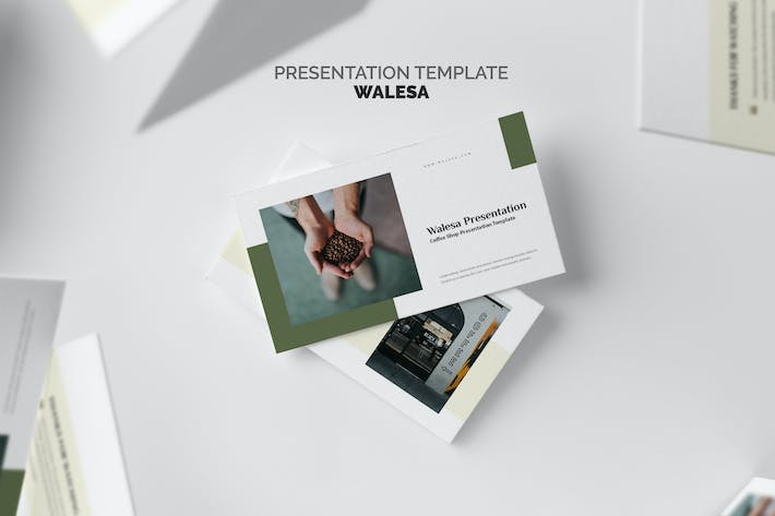 Thumbnail for Walesa : Coffee Shop & Roastery Powerpoint
