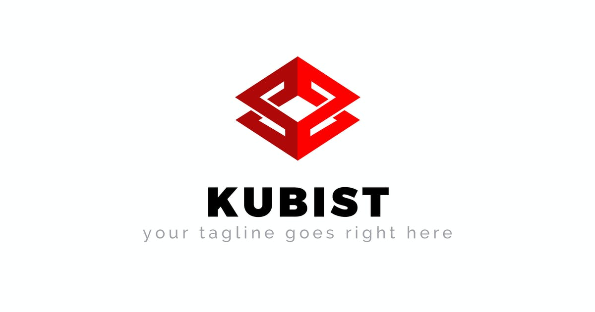 Download Kubist - Abstract Logo Template by ThemeWisdom
