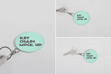 Keychain Mock Up