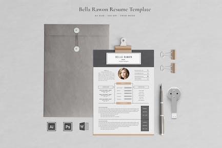 Creative Resume Bella