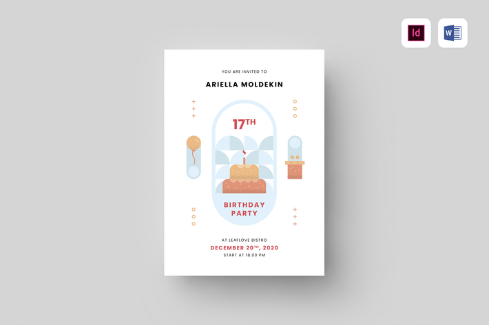 Thumbnail for Birthday Invitation