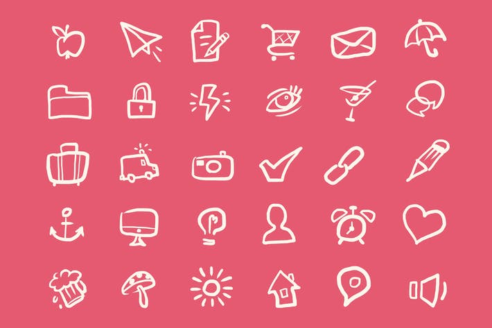 Thumbnail for Light Doodles Icons