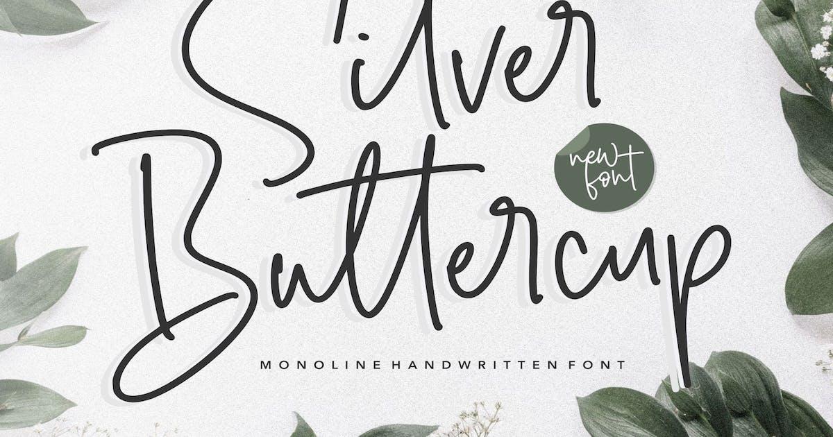 Download Silver Buttercup Handwritten Font YH by GranzCreative