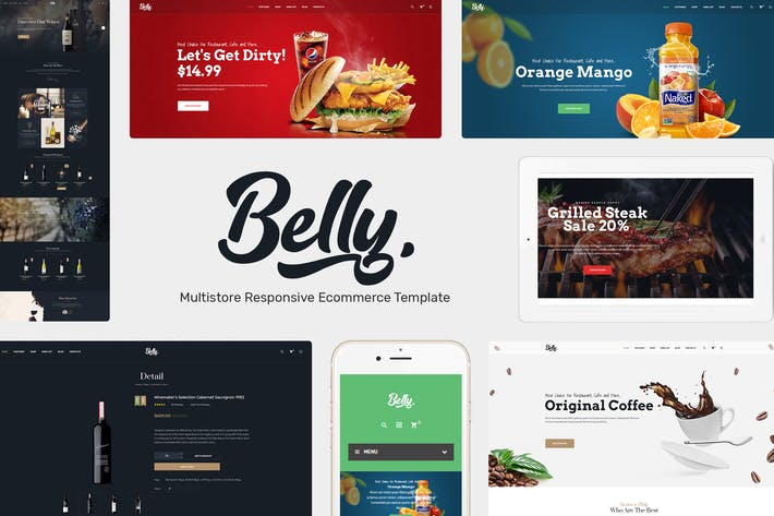 Thumbnail for Belly - Multipurpose Theme WooCommerce WordPress