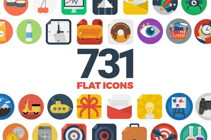Thumbnail for Flat Icons