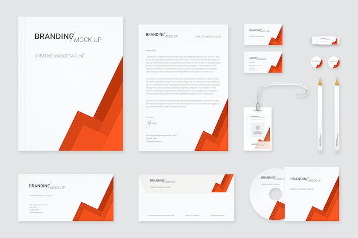 Cover Image For Branding Identity Mock Up (Vol. 5)